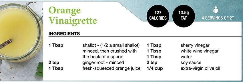 Zone Diet Orange Vinaigrette