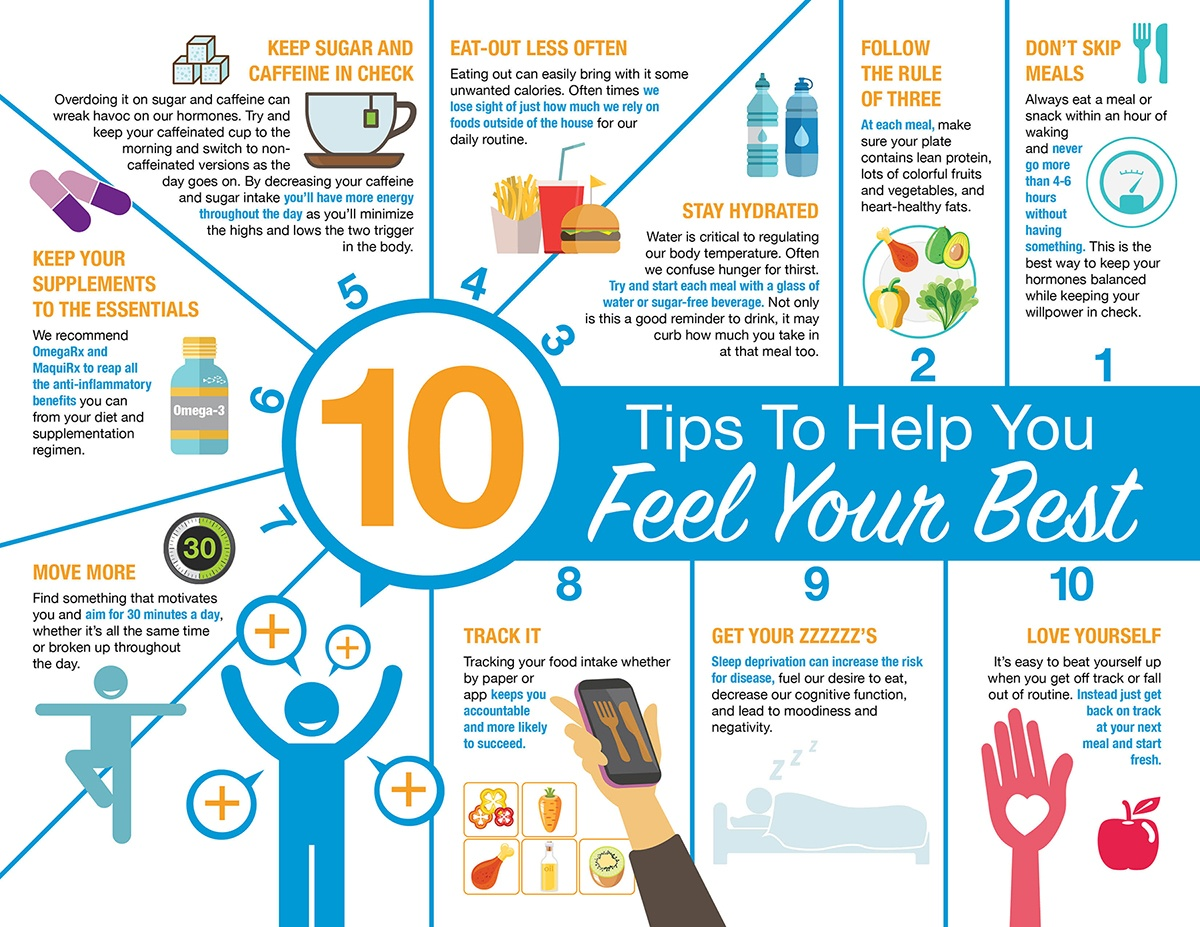 10 Tips to Help You Feel Your Best