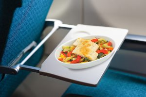 airplane zone meal