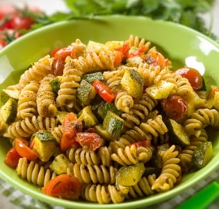 Baked Fusilli with Zuchini