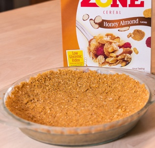 Zone Mixed Berry Pie Crust with Cereal