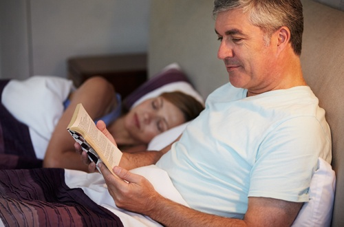 Zone Living: Reading Before Bed