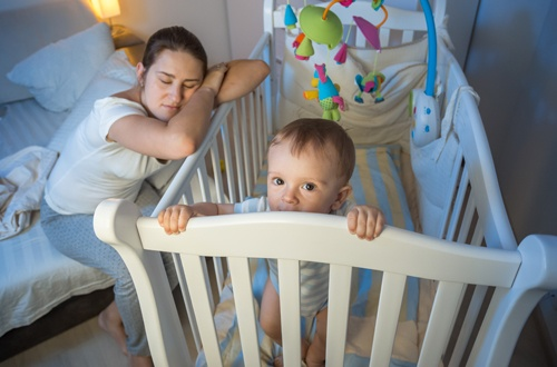 Zone Living: Sleep Deprived Mom