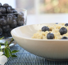 Blueberry Ricotta Oatmeal
