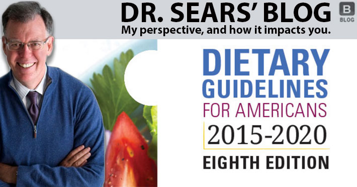 Dr. Barry Sears 2015 USDA Dietary Guidelines