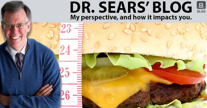 Dr. Sears Industrialized Foods blog