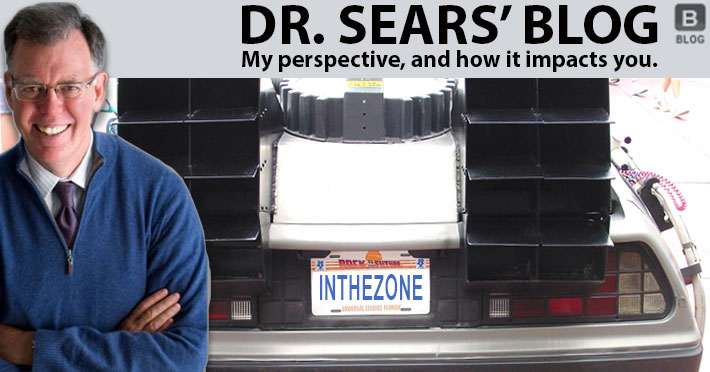 Dr. Sears and Back to the Future of Dieting Blog