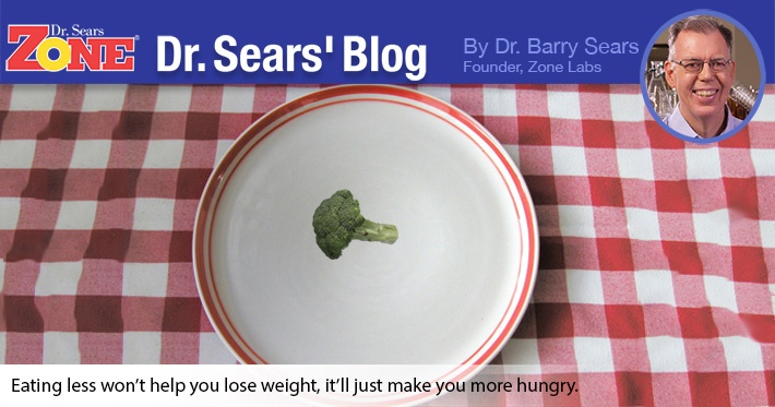 Dr. Sears' Blog: Eat Less, Get Hungry