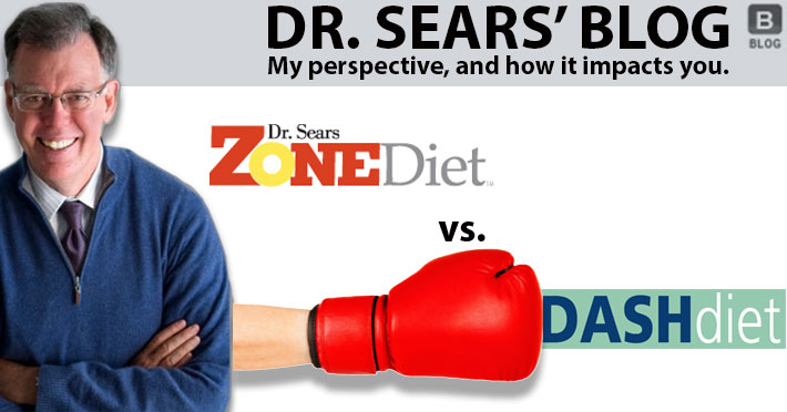 Don't DASH Your Hopes About the Zone Diet