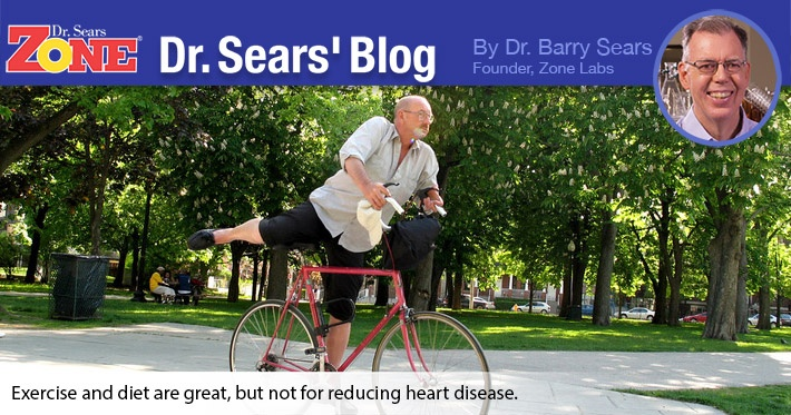 Dr. Sears' Blog: Why Doesn't Exercise and Diet Reduce Heart Disease for Diabetics?