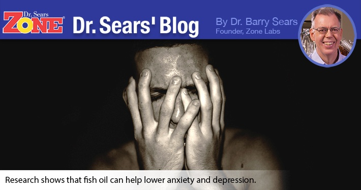 Dr. Sears' Blog: Anxiety and Omega-3 Fatty Acids