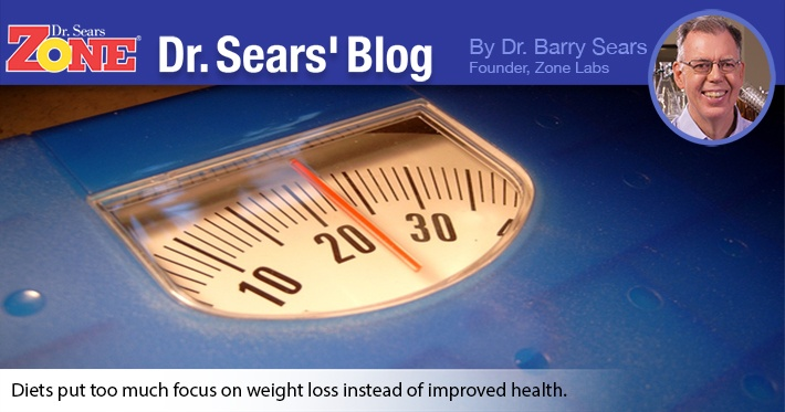 Dr. Sears' Blog: Diets Don't Work? Or Does Bad Science Generate Bad Data?