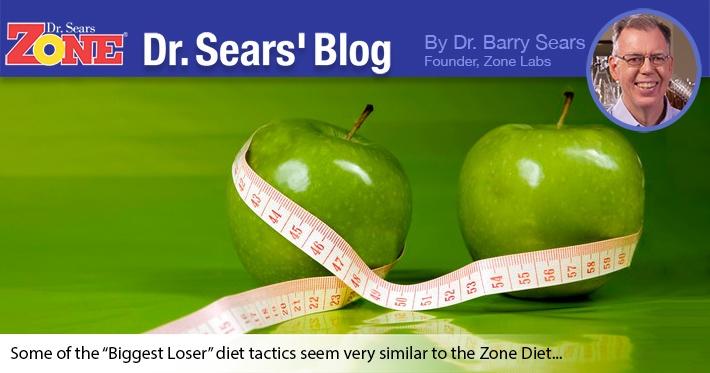"""Dr. Sears' Blog: """"Biggest Loser"""" or Best Zoner?"""