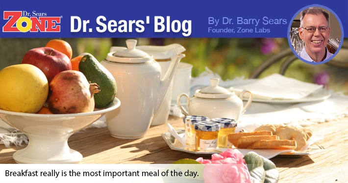 Dr. Sears' Blog: Eat Your Breakfast