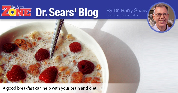 Dr. Sears' Blog: No Excuses, Eat Your Breakfast