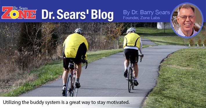 Dr. Sears' Blog: Motivation Through The Buddy System