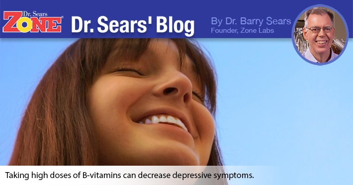 Dr. Sears' Blog: The Mood-Lifting Properties of B-Vitamins