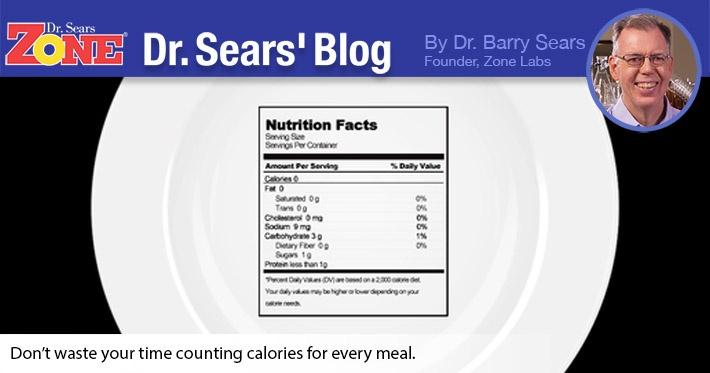 Dr. Sears' Blog: A Calorie's a Calorie… Not Quite