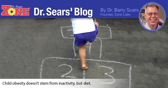 Dr. Sears' Blog: Mythologies In Treatment of Childhood Obesity