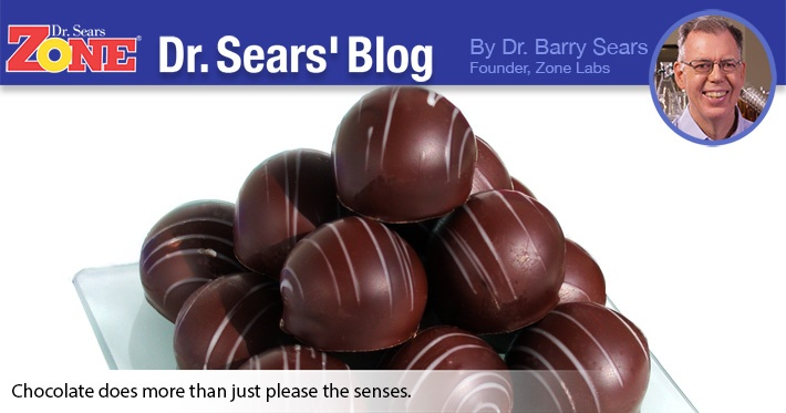 Dr. Sears' Blog: Like You Needed A Reason To Eat Chocolate