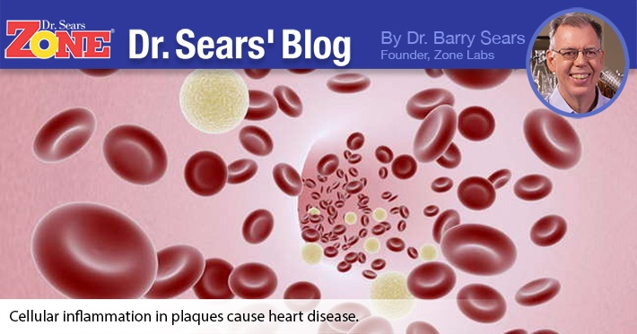 Dr. Sears' Blog: How to Eliminate 50% of All Coronary Events