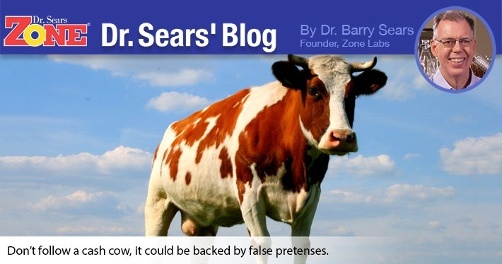 Dr. Sears' Blog: A Cash Cow Based On Bad Science