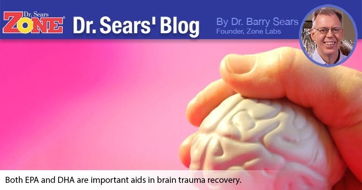Dr. Sears' Blog: The Fallacy of Using DHA Alone for Brain Trauma