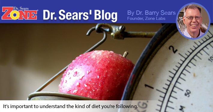 Dr. Sears' Blog: When Is A Diet Not A Diet?