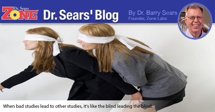 Dr. Sears' Blog: Double Loser: How One Flawed Study Generates Another