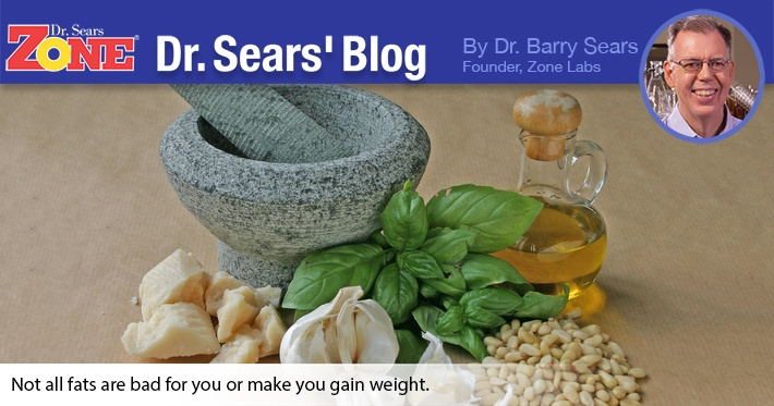 Dr. Sears' Blog: Does Eating Fat Make You Fat?