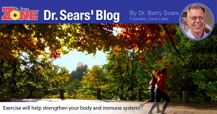Dr. Sears' Blog: Ward Off The Common Cold With Exercise