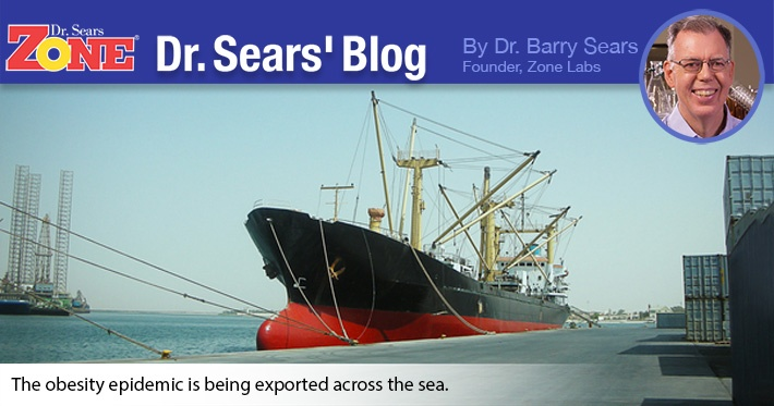 Dr. Sears' Blog: United States' Major Export: Obesity