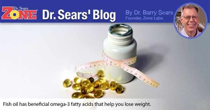 Dr. Sears' Blog: Fish Oil and Fat Loss