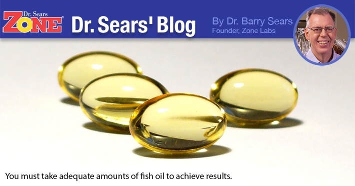 Dr. Sears' Blog: Meta-Analysis Study on Fish Oil Effectiveness Is Fatally Flawed