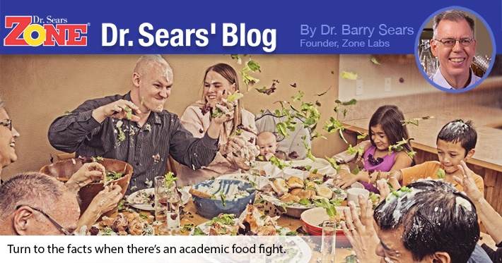 Dr. Sears Blog: Academic Food Fight