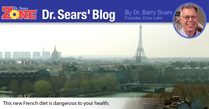 Dr. Sears' Blog: A Really Dumb Diet from France