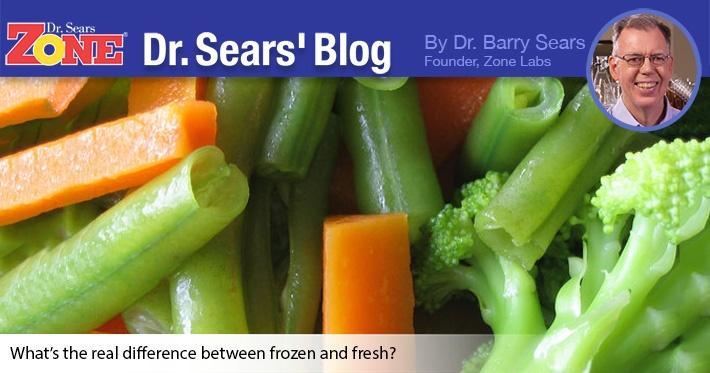 Dr. Sears' Blog: Fresh Versus Frozen Vegetables