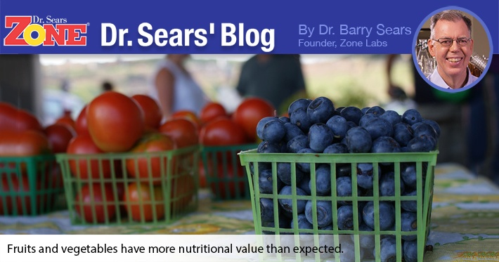 Dr. Sears' Blog: Another Good Reason To Eat Your Fruits and Vegetables