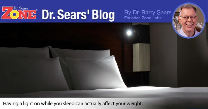 Dr. Sears' Blog: Lights Off For Weight Loss