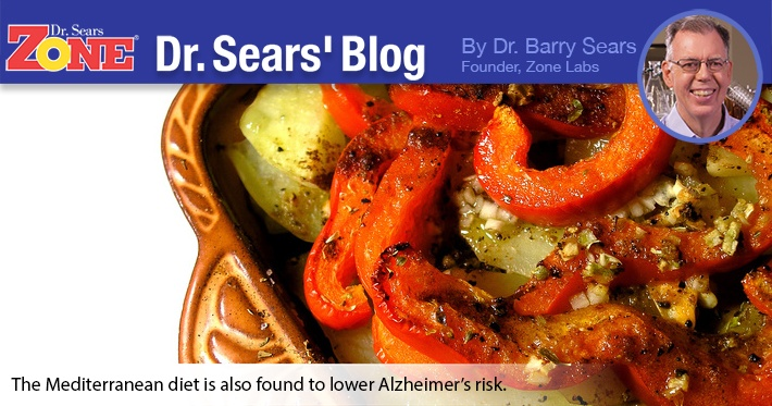 Dr. Sears' Blog: One More Notch In The Belt For The Mediterranean Diet