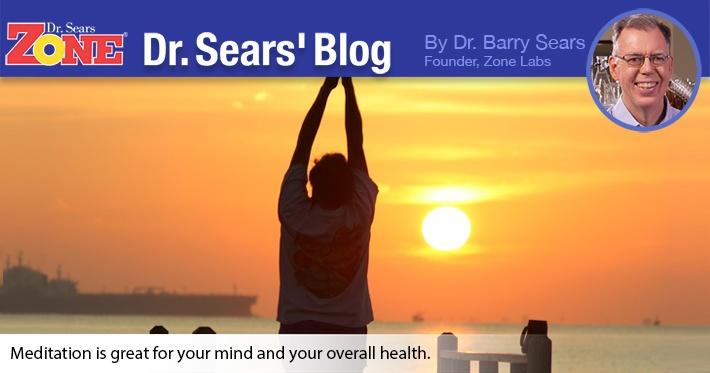 Dr. Sears' Blog: Meditation: Push-Ups For the Brain?