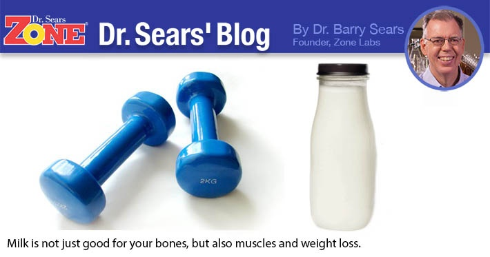 Dr. Sears' Blog: Milk Helpful In Workout Recovery