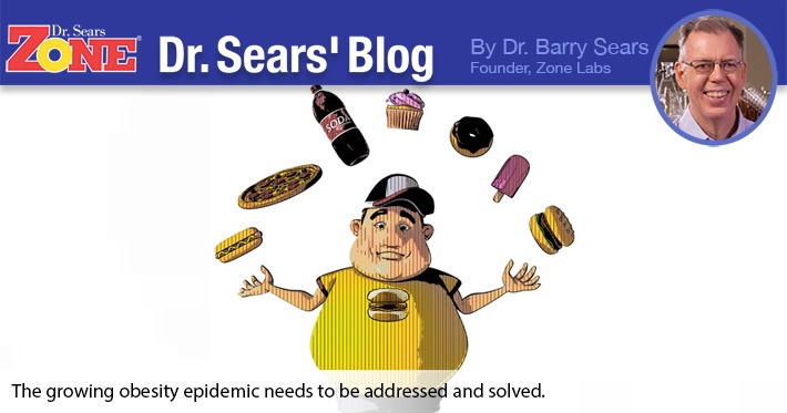 Dr. Sears' Blog: Obesity Continues to Climb
