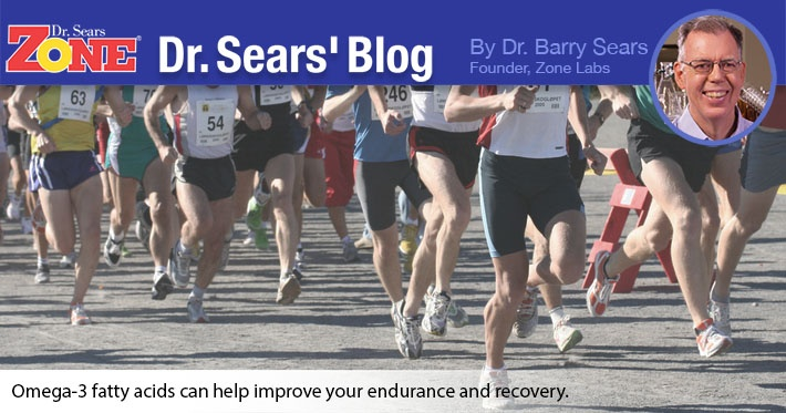 Dr. Sears' Blog: Omega-3 Fatty Acids and Athletic Performance