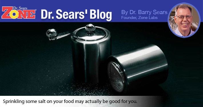 Dr. Sears' Blog: Pass the Salt Please?