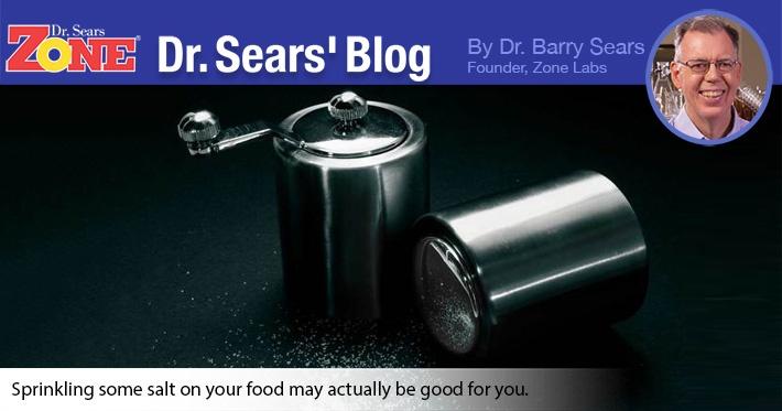 Dr. Sears' Blog: Pass the Salt Please?
