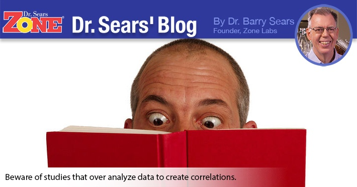 Dr. Sears' Blog: The Dangers of Over-Analyzing Too Much Data in Prostate Study