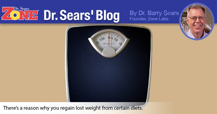 Dr. Sears' Blog: Harvard Explains Why People Regain Weight with the Atkins Diet