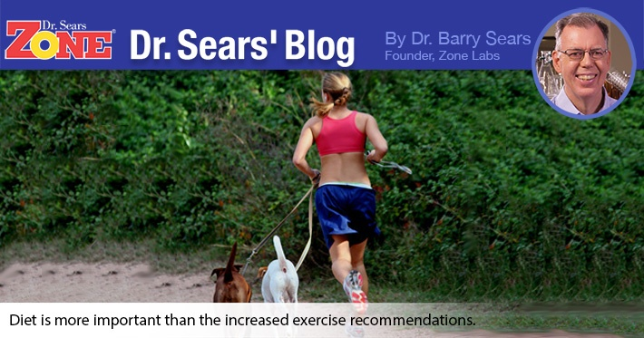 Dr. Sears' Blog: Exercise Recommendations Increased For Women