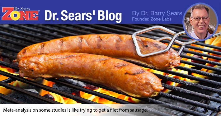Dr. Sears' Blog: Trying to Make Science Out of Sausage
